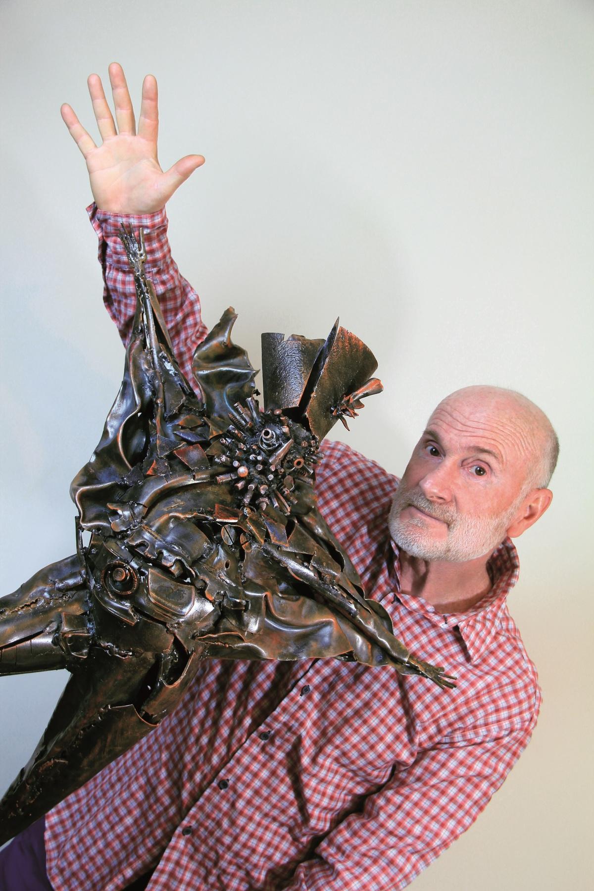 "Sculptor with ""Sergey Parajanov"""